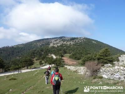 Cuerda de Cuelgamuros - Senderismo Ávila - Ruta Madrid; amistades